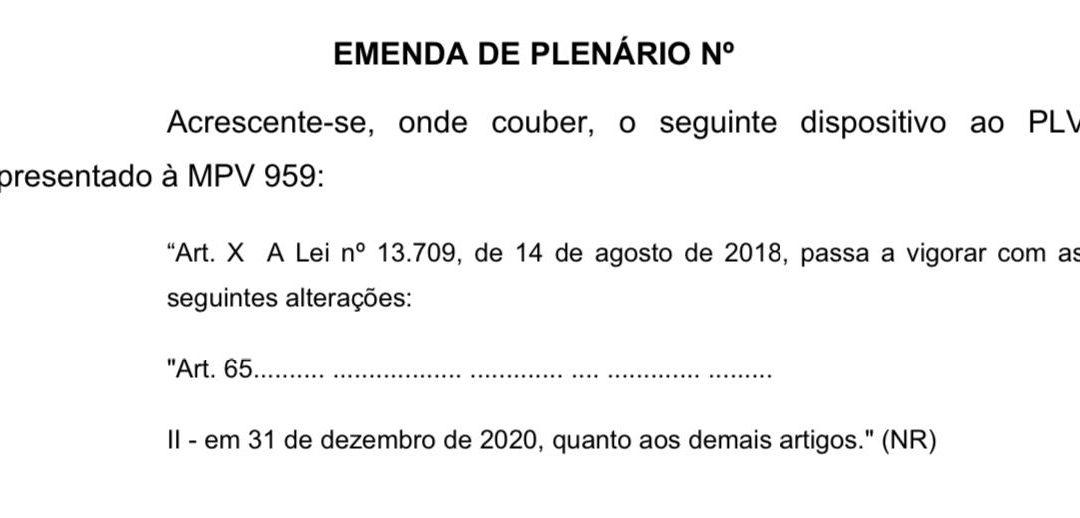 UPDATE sobre a data de entrada da LGPD: Últimas Novidades